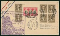 MAYFAIRSTAMPS US FIRST FLIGHT COVER 1932 CALIFORNIA EL CENTR