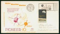 MAYFAIRSTAMPS US SPACE 1969 PIONEER 10 SWANSON SOLAR WEATHER