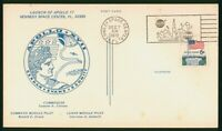 MAYFAIRSTAMPS US SPACE 1972 APOLLO 17 VIP CARD WWP47065