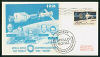 MAYFAIRSTAMPS US SPACE 1970S APOLLO SOYUZ RECOVERY CONTROL C