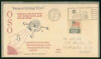 MAYFAIRSTAMPS US SPACE 1969 OSO SEARCHING EYE EXPLORATION SP