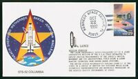 MAYFAIRSTAMPS US SPACE 1992 STS 52 COLUMBIA LAUNCH OVERVIEW