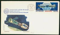 MAYFAIRSTAMPS US SPACE 1975 APOLLO SOYUZ UNDOCKING COVER WWP