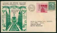 MAYFAIRSTAMPS USS TUCSON 1944 CRUISER LAUNCHED NAVAL COVER W