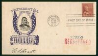 MAYFAIRSTAMPS US FDC 1938 ULYSSES S GRANT FIRST DAY COVER WW