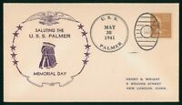 MAYFAIRSTAMPS US NAVAL 1941 USS PALMER MEMORIAL DAY MARTHA W