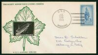 MAYFAIRSTAMPS US NAVAL 1950 USS MINDORO MIGHY MINNIE VISITS