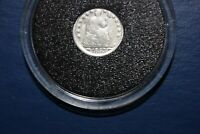 1853P SILVER SEATED LIBERTY HALF DIME G