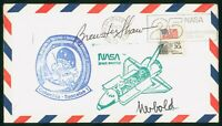 MAYFAIRSTAMPS US SPACE 1983 BREWSTER SHAW SIGNED COLUMBIA SP