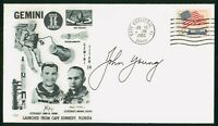 MAYFAIRSTAMPS US SPACE 1966 GEMINI II JOHN YOUNG CAPE CANAVE