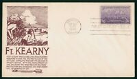 MAYFAIRSTAMPS US FDC UNSEALED 1948 FORT KEARNY ANNIVERSARY A