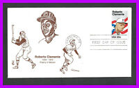ROBERTO CLEMENTE: 1984 COVER CRAFT CACHET  CCC  FIRST DAY CO