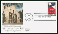 MAYFAIRSTAMPS US FDC UNSEALED 1986 TEXAS STATEHOOD ANNIVERSA