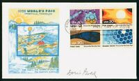 MAYFAIRSTAMPS US FDC UNSEALED 1982 KNOXVILLE WORLD'S FAIR BL