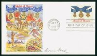 MAYFAIRSTAMPS US FDC UNSEALED 1983 MEDAL OF HONOR DORIS GOLD