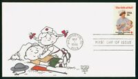 MAYFAIRSTAMPS US FDC UNSEALED 1981 AMERICAN RED CROSS KOVER