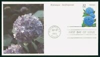 MAYFAIRSTAMPS US FDC CALIFORNIA HYDRANGEA 1995 FIRST DAY COV