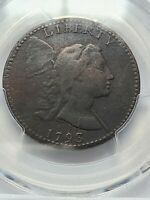 1793 LIBERTY CAP PCGS GRADED VF DETAILS S-13,B-20,LOW R-4  IN ANY CONDITION