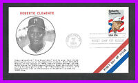 ROBERTO CLEMENTE: 1984 FIRST DAY COVER CAROLINA PR   RED WHI