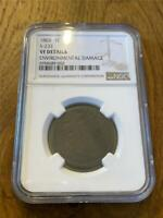 1802 LARGE CENT S-232 NGC VF
