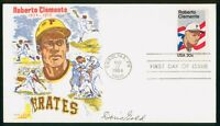 MAYFAIRSTAMPS US FDC SEALED 1984 ROBERTO CLEMENTE BASEBALL D