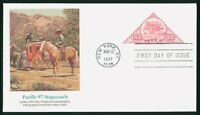 MAYFAIRSTAMPS US FDC UNSEALED 1997 PACIFIC 97 STAGECOACH FLE