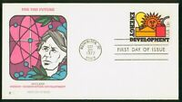 MAYFAIRSTAMPS US FDC 1977 ENERGY DEVELOPMENT NUCLEAR FIRST D