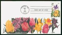 MAYFAIRSTAMPS US FDC 1993 IRIS FLOWERS FIRST DAY COVER WWP_6