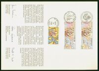 MAYFAIRSTAMPS US FDC 1988 MAP COMBO NEW SWEDEN MIXED FRANKIN