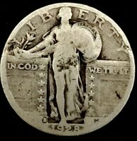 1928-P 25C STANDING LIBERTY QUARTER 90 SILVER 20UAU1025 70 CENTS SHIPPING