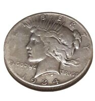 EARLY - 1934-S - PEACE SILVER DOLLAR - 90 US COIN