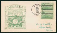 MAYFAIRSTAMPS USS STINGRAY 1938 US SUBMARINE FIRST DAY IN CO