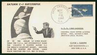MAYFAIRSTAMPS US SPACE 1962 CAPE CANAVERAL FL SATURN C1 JFK