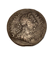 1771 NON REGAL GEORGE III HALFPENNY COLONIAL COIN. CLIPPED.