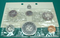 CANADA  1964 PROOF LIKE SET  SILVER     6 COINS