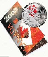 2003 CANADA 25 CENTS COLOURED QUARTER   CANADA DAY FROM THE MINT   STJH13