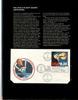 THE STS 8  CHALLENGER  FLIGHT COVER USPS/NASA MINT CONDITION   112171 OF 165000