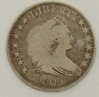 1806 DRAPED BUST HALF DOLLAR O-117 R5 /5187