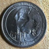 2013 P MOUNT RUSHMORE NATIONAL PARK QUARTER BU