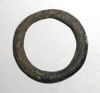 CELTIC BRONZE RING PROTO MONEY 600 400 BC.  USED FOR EXCHANGE BEFORE COINS