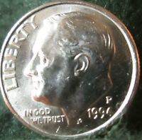 BEAUTIFUL   1994 P ROOSEVELT DIME CLAD // BRILLIANT UNCIRCULATED GEM PROOF LIKE