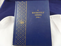 1946 1970 ROOSEVELT UNCIRCULATED DIME COLLECTION   60 DIMES   48 SILVER