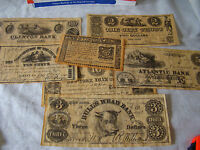 HISTORICAL REPRODUCTION NEW YORK CURRENCY 1776 1864 7 PIECE SET 371551