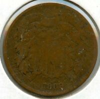 1869 2-CENT COIN AA373