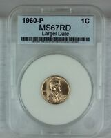 1960 LD 1C RD LINCOLN CENT PENNY 1C BU  HIGH QUALITY US COIN MS/BU/UNCIRCULATED