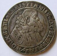 GERMANY BRUNSWICK LUNEBURG CELLE THALER 1624 CHRISTIAN VON MINDEN 1611 1633