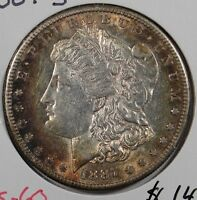 1887-S $1 MORGAN SILVER DOLLAR MINT STATE 155181