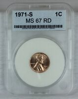 1971 S 1C RD LINCOLN CENT PENNY 1C BU  HIGH QUALITY US COIN MS/BU/UNCIRCULATED