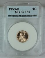 1953-D 1C RD LINCOLN CENT MINT STATE HIGH QUALITY US COIN FROM MINT SET AAA