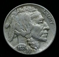 1935 BUFFALO 5C NICKEL BEAUTIFUL TYPE COIN   N21